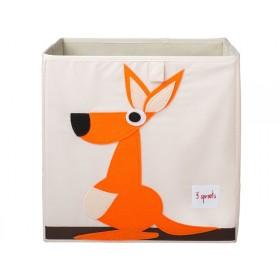 3 Sprouts Aufbewahrungsbox Känguru