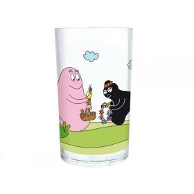 Acrylglas mit Barbapapa und Barbamama von Petit Jour