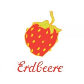 Bügelbild Erdbeere von krima & isa