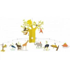 Djeco Mobile mit afrikanischer Savanne