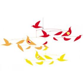 Djeco Mobile mit japanischen Vögeln