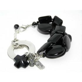 FIVA Armband (schwarz 3 reihig)