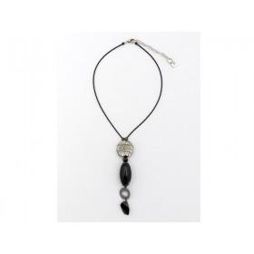 FIVA Halskette (Murano, Swarovski, Bein)