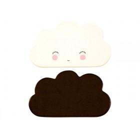 A Little Lovely Company Wandhaken Wolken