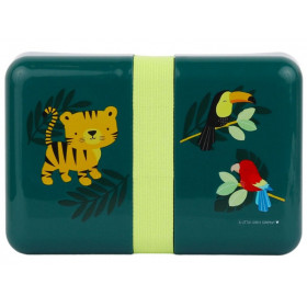 A Little Lovely Company Lunchbox DSCHUNGEL TIGER