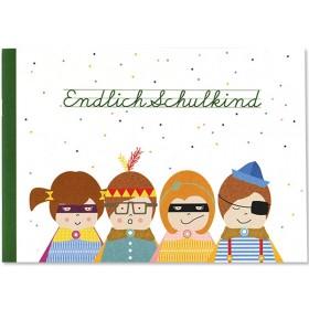 Ava & Yves Erinnerungsbuch ENDLICH SCHULKIND