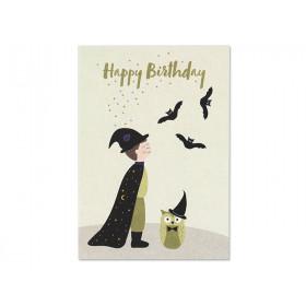 """Ava & Yves Postkarte MAGIER """"Happy Birthday"""""""