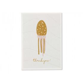 """Ava & Yves Postkarte OKTOPUS """"Happy Birthday"""""""