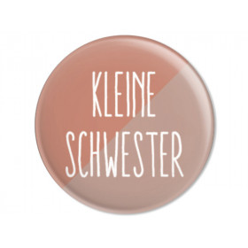Ava & Yves Button KLEINE SCHWESTER altrosa