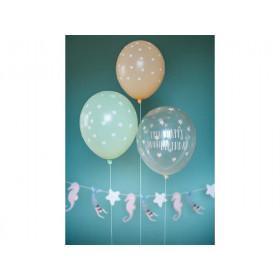 "Ava & Yves Luftballons MEERJUNGFRAU ""Happy Birthday"""