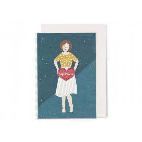 Ava & Yves Grußkarte BESTE MAMA