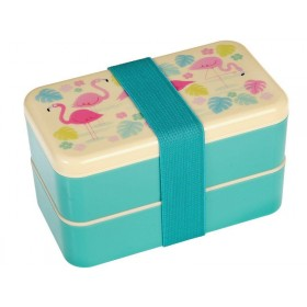 Rex London Bento Box Flamingo groß