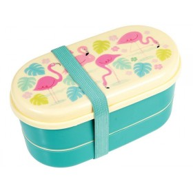Rex London Bento Box Flamingo