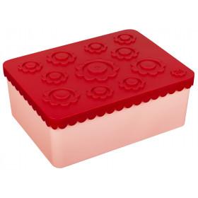 Blafre Lunchbox BLUMEN rot/rosa