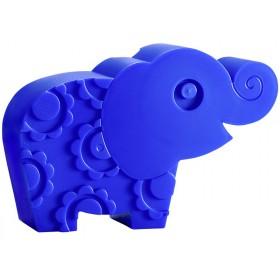 Blafre Lunchbox Elefant blau