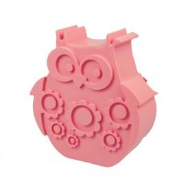 Blafre Lunchbox Eule rosa