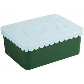 Blafre Lunchbox Traktor hellblau-grün klein