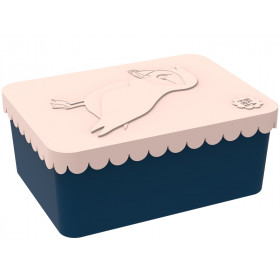Blafre Lunchbox Papageientaucher pfirsich klein