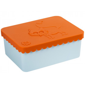 Blafre Lunchbox FUCHS orange-hellblau S