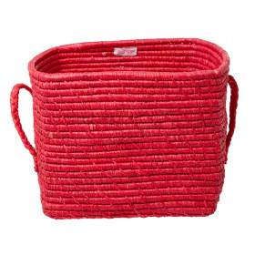RICE Korb CANDY RED