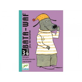 Djeco Kartenspiel BATA-WAF