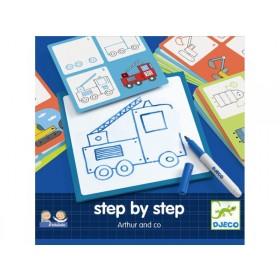 Djeco Eduludo Step by Step Arthur