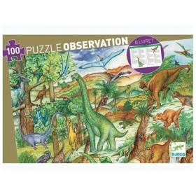 Djeco Entdeckerpuzzle Dinosaurier