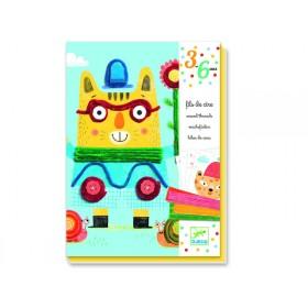 Djeco 3-6 Design: Wachsfäden - Filomene und ihre Freunde