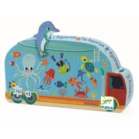 Djeco Formenpuzzle: Aquarium