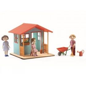 Djeco Puppenhaus Gartenhaus