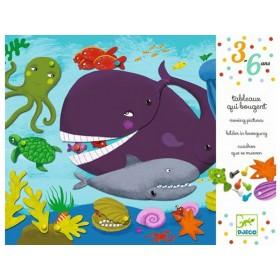 Djeco 3-6 Design: Bilder in Bewegung - Hallo Tiere!