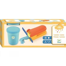 Djeco 3-6 Design: Knete Set mit 1 Presse