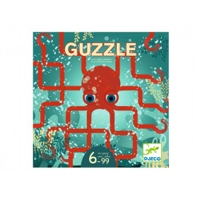 Djeco Knobelspiel GUZZLE