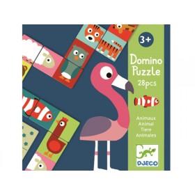 Djeco Lernspiel Domino ANIMO-PUZZLE