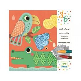 Djeco 3-6 Design: Motive zum Durchreiben - Magali's Freunde