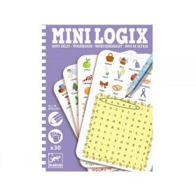 Djeco Mini Logix Buchstabensalat