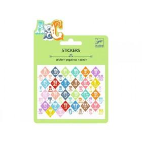 Djeco Mini stickers SALOON SCHRIFTART