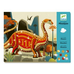 Djeco Mosaik Kunst nach Zahlen DINOSAURIER