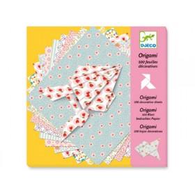 Djeco Origami 80 bunte Papiere