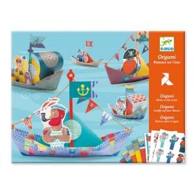 Djeco Origami Schiffe auf dem Wasser