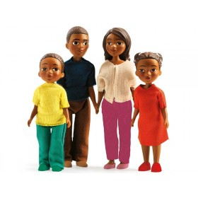 Djeco Puppenhaus Familie Milo & Mila
