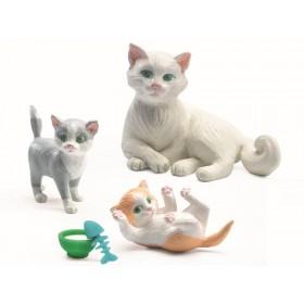 Djeco Puppenhaus Katzen