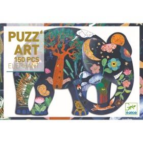 Djeco Puzzle Puzz'Art ELEFANT (150 Teile)