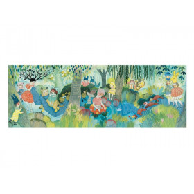 Djeco Puzzle Galerie RIVER PARTY (350 Teile)