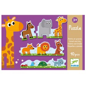Djeco Duo Puzzle Gross & Klein