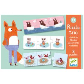 Djeco Trio Puzzle Geschichten