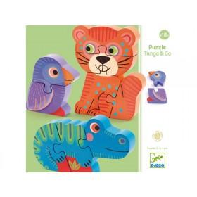 Djeco Puzzle Tunga & Co