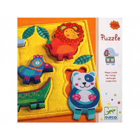 Djeco Reliefpuzzle Junga