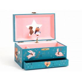 Djeco Spieluhr mit Schmuckkästchen MAGISCHE MELODIE