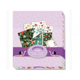 Djeco Schreib-Set: Mein Briefpapier - Violette